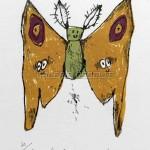 蛾のナターシャさん。と言われてモスラを思い出してしまった。インファント島に住みたい。