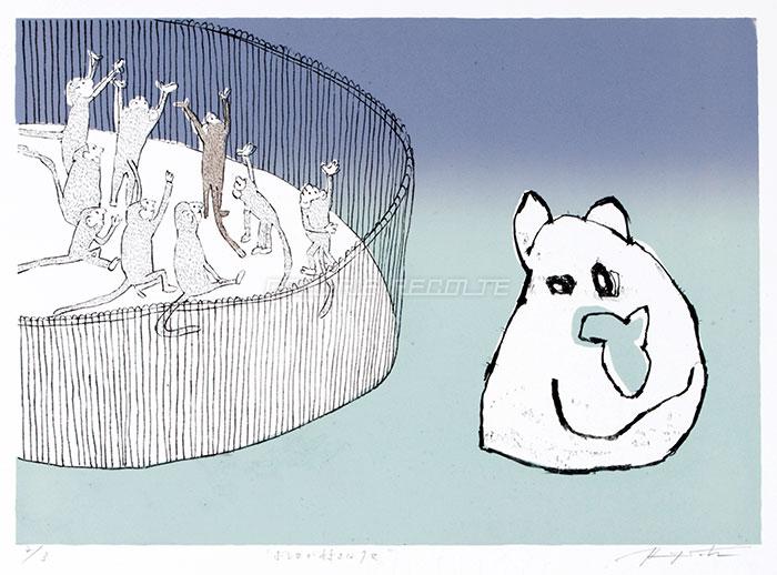 ボレロが好きなクマ