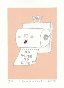 NO PAPER NO LIFE