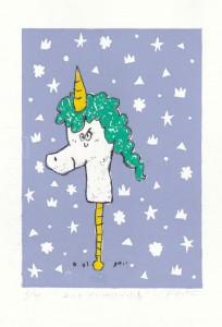 ユニコーンになりたかった馬