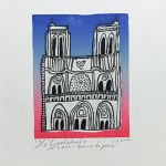 La tour Eiffel☆Notre-Dame♡Arc de triomphe de l'Étoile
