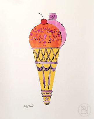 Ice Cream Dessert (red and pink)