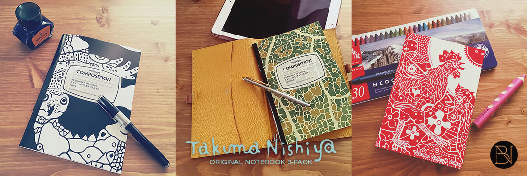 Takuma Nishiya Original Notebook