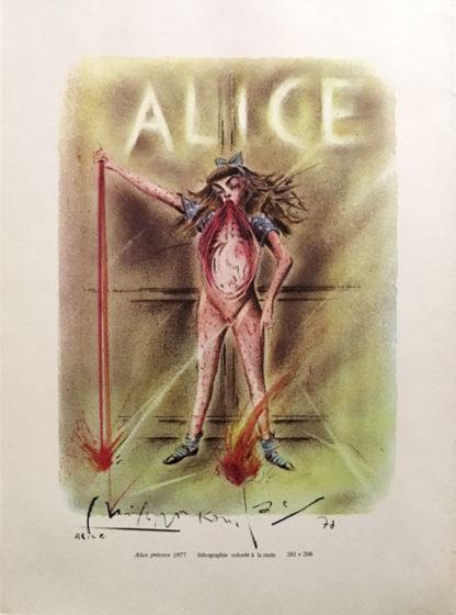 Alice Précoce ポスター