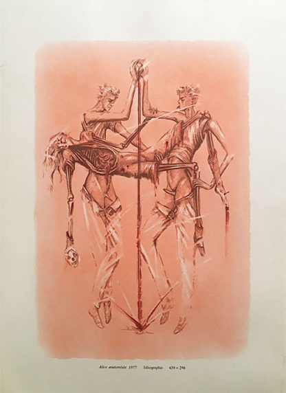 Alice anatomisée ポスター